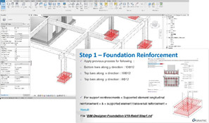 bim designer foundation reinforcement