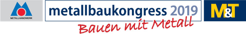 Logo Metallbaukongress 2019