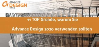 Advance Design 2020 - 11 TOP Funktionen